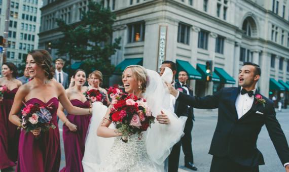 Adolphus Hotel Dallas Wedding // Hilary + Xavier