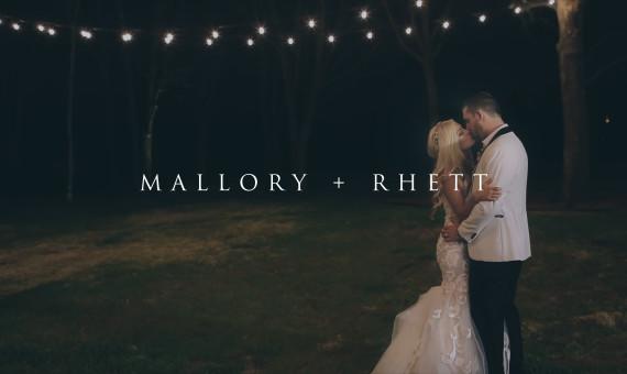 White Sparrow Barn Wedding Teaser // Mallory + Rhett