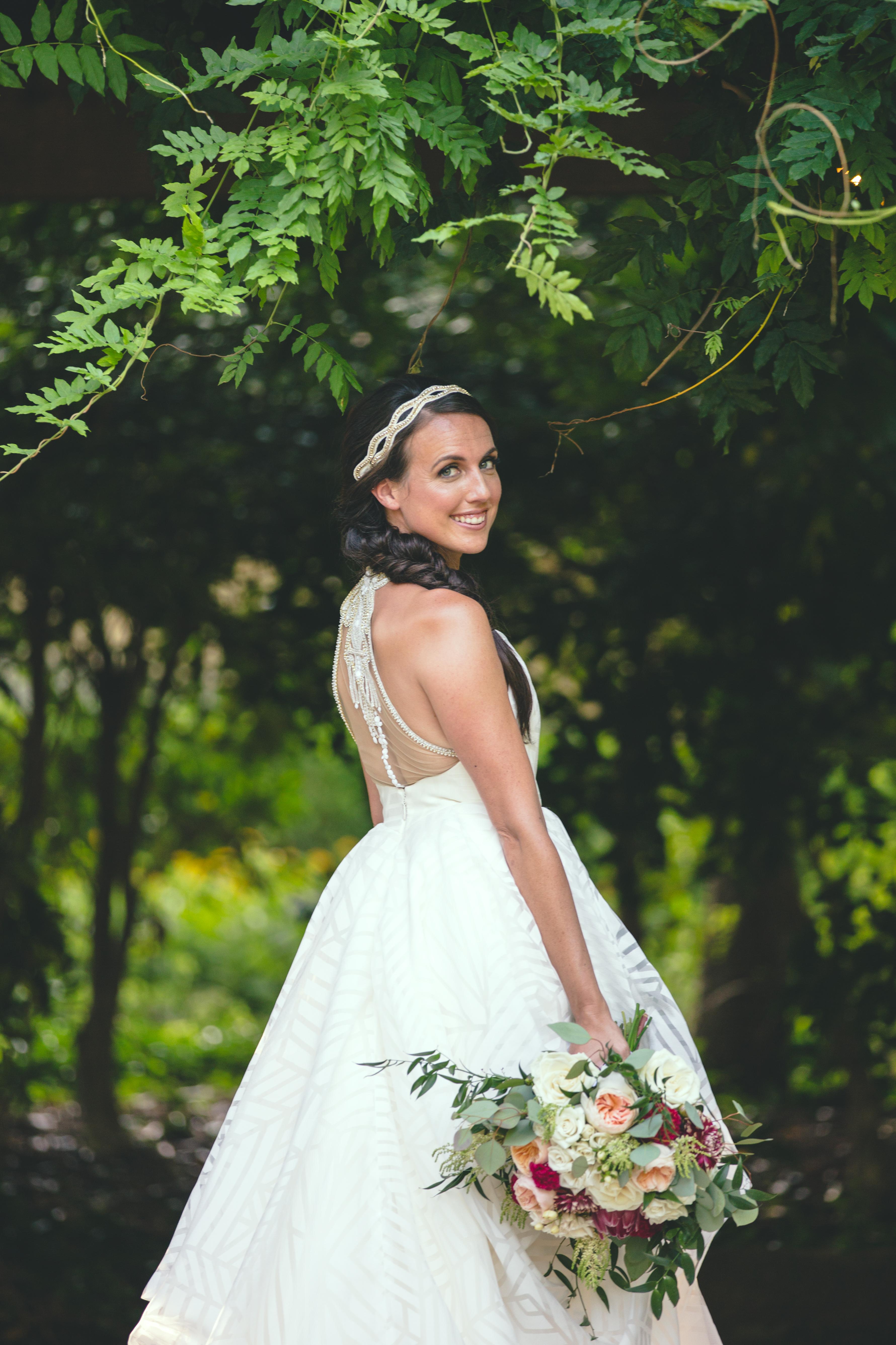 grapevine botanical garden bridals // lauren's bridals   dallas