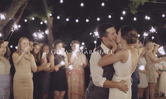Sierra Vista UMC Wedding Highlight // Gina + Marshall