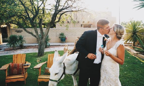 Gage Hotel Wedding Highlight Film // Carly + John