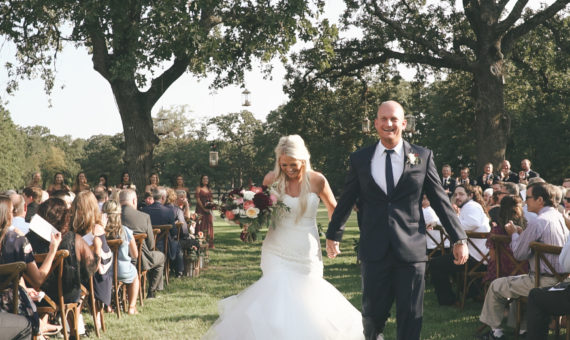 White Sparrow Barn Highlight // Kate + Aaron